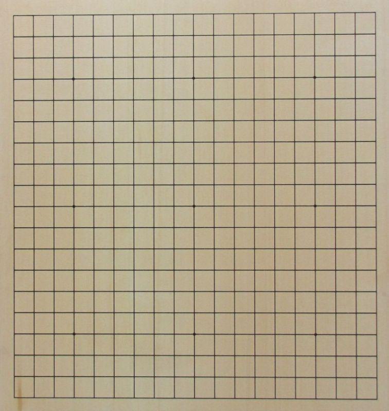 Exkluzivní deska ze žlutého cedru 19x19, 60 mm