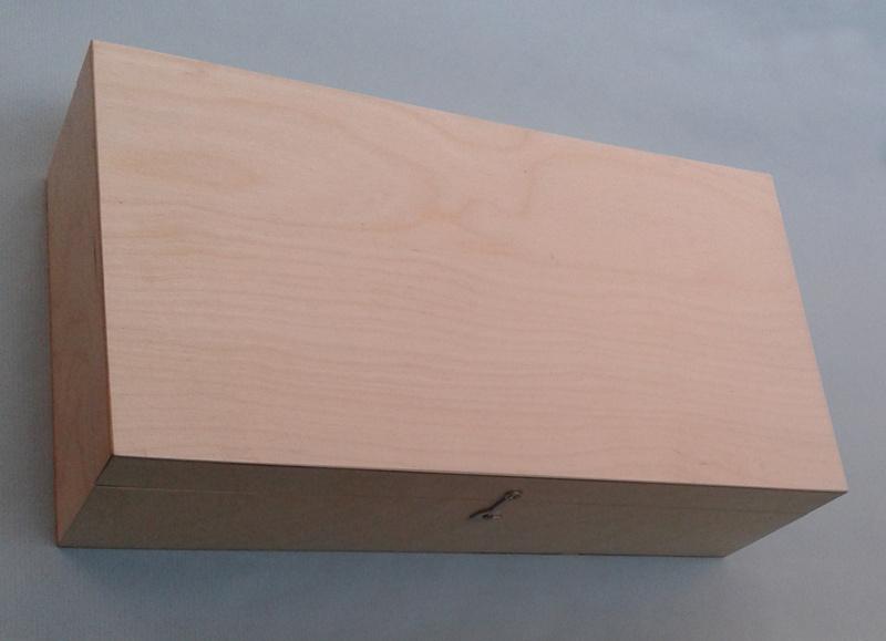 Krabice na dřevěné dózy